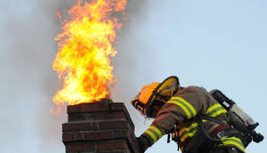 chimney cleaning, chimney fire
